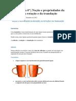 Isometrias-Matemática 6º