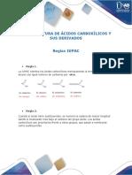 Nomenclatura de Ácidos Carboxílicos y Sus Derivados