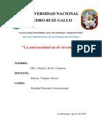 Universidad en El Virreinato
