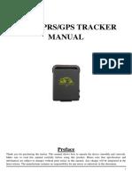 Gps Tracker Manual