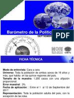 Informe de Prensa Barometro Pol Set 20171