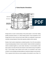 Guides for Storage Tanks Nozzles Orientation