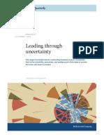 McKindsey - Leading Through Uncertainty