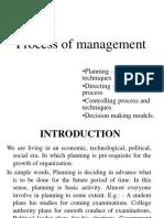 Unit 2 Process of Management