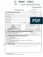 Ficha Tecnica Descriptiva. Instalaciones de Calefaccion Climatizacion y ACS