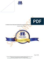 Dissertation Sample Editing