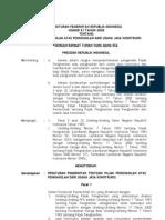 Pp No.51-2008-1 Pajak Penghasilan Atas Penghasilan Dari Usaha Jasa Konstruksi