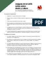 Consignas de La UJCE. Apuntes Sobre Metodo y Cultura