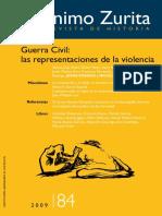 Guerra Civil - Las Representaciones de La Violencia (Jerónimo Zurita)