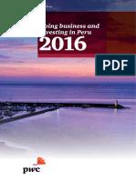 PWC - Doing Business in Peru 2016
