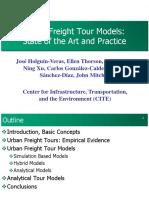 Urban Freight Tour Models FINAL 4-7-14