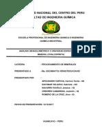 Informe de Minerales 2