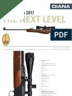 DIANA airguns Katalog 2017