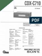 CDX-C710
