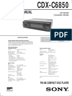 CDX-C6850