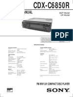 CDX-C6850R