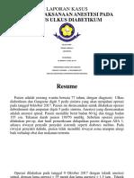 Case Report Anestesi Ppt