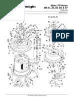 h8-s1 s3 s5 s6 s7_pd Meter_parts List Po01010