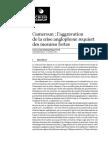 Rapport ICG sur l'aggravation de la crise anglophone au cameroun