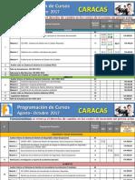 Programacion Caracas AGO-OCT 2017