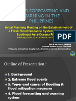 Philippines-Flood Forecasting Warning