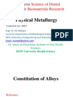 Constitution of Alloys