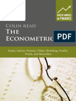 (Great Minds in Finance) Colin Read (auth.)-The Econometricians_ Gauss, Galton, Pearson, Fisher, Hotelling, Cowles, Frisch and Haavelmo -Palgrave Macmillan UK (2016).pdf