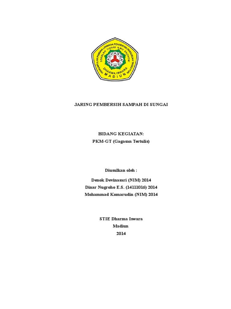 Contoh Proposal Pkm Gt