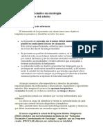 Protocolos Nacionales Oncología