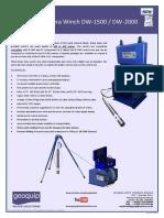 GWS - Laval Deep Well Camera Winch DW-1500 DW-2000 v2