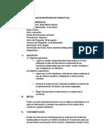 Plan de Intervencion Conductual