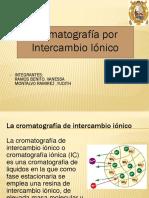 Cromatografai Ionica 2017