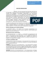 ACTA de CONCILIACION Temario 2 Segunda Unidad