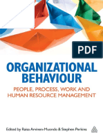 Organizational Behaviour_people, Process, Work and Resource Management
