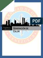 Grupo 6 Generacion de Calor. Fundamentos de Seguridad.