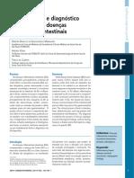 Características e Diagnóstico Diferencial Das Doenças Inflamatórias Intestinais