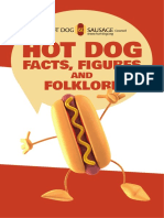 Hotdog Facts Figures Folklore Brochure