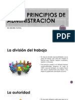 Los 14 Principios de Administración