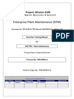 Sap PlantMaintenace End User Manual External Services