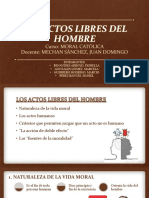 ACTOS LIBRES DEL HOMBRE