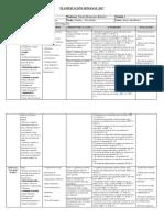 Planificación Lenguaje 6to
