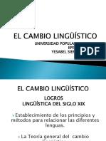 El Cambio Lingüístico