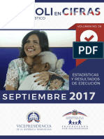 Boletín Estadistico Septiembre 2017