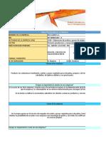 100504 Ficha de Caracterizacion de La Empresa Aceites Del Llano - Jose Marroquin