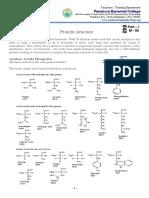 M - 8 Protein - Structure