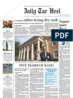 The Daily Tar Heel for August 24, 2010