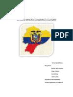 Ecuador macroeconomia