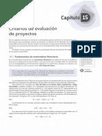 15 - Criterios de Evaluacion de Proyectos