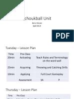 tchoukball unit