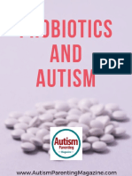 Effects of Probiotics to Autism